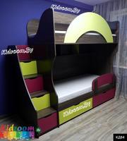 Купить двухъярусную кровать в Минске