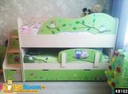 Двухъярусные выдвижные кровати в Минске